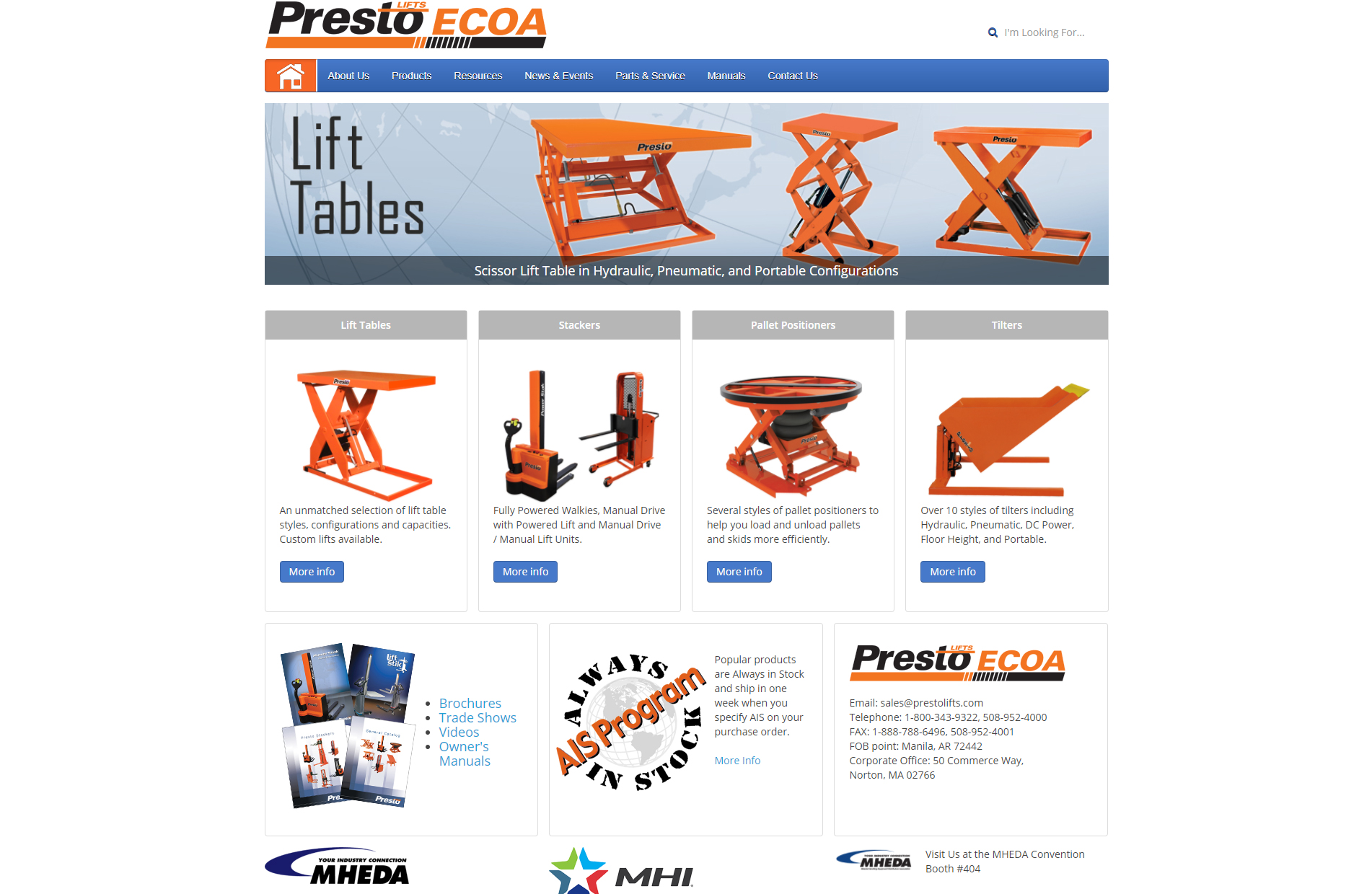Presto Lifts Inc.